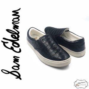 Sam Edelman | Marvin Crocodile Slip-On Sneakers